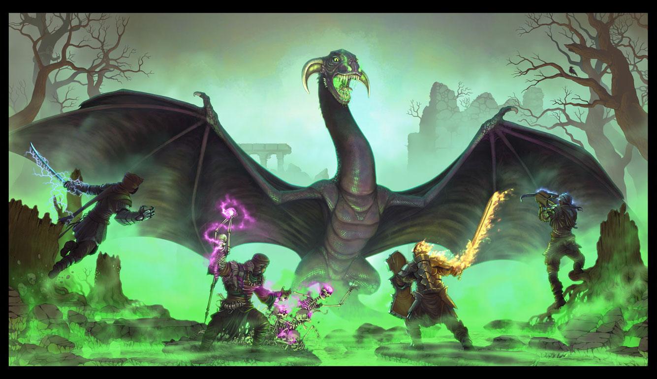 The Black Dragon.